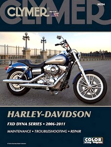 Livre : Harley-Davidson FXD Dyna Series (2006-2011) - Clymer Motorcycle Service and Repair Manual