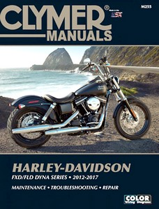 Livre : Harley-Davidson FXD / FLD Dyna Series (2012-2017) - Clymer Motorcycle Service and Repair Manual