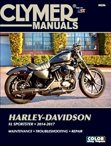 Livre : Harley-Davidson XL Sportster (2014-2017) - Clymer Motorcycle Service and Repair Manual