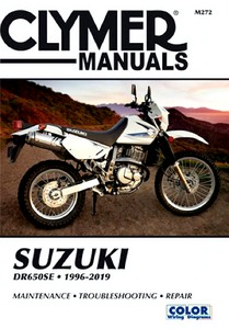 Livre : Suzuki DR 650 SE (1996-2019) - Clymer Motorcycle Service and Repair Manual