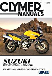 Livre : Suzuki DL 650 V-Strom (2004-2011) - Clymer Motorcycle Service and Repair Manual