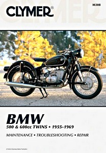 Livre : BMW 500 & 600 cc Twins - R50, R50/2, R60, R60/2, R69, R69/2 (1955-1969) - Clymer Motorcycle Service and Repair Manual