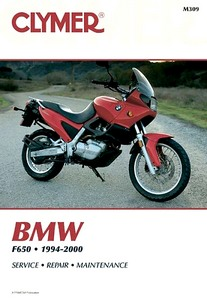 Livre : BMW F 650 (1994-2000) - Clymer Motorcycle Service and Repair Manual