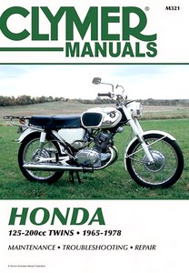 Livre : Honda CA-CB-CD-CL / SL-SS 125 - 200 cc Twins (1965-1978) - Clymer Motorcycle Service and Repair Manual