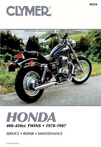 Livre : Honda CB 400, CB 450 / CM 400, CM 450 / CMX 450 - 400-450 cc Twins (1978-1987) - Clymer Motorcycle Service and Repair Manual