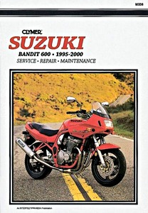 Livre : Suzuki GSF 600 Bandit (1995-2000) - Clymer Motorcycle Service and Repair Manual