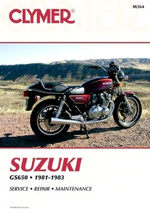 Livre : Suzuki GS 650 Fours (1981-1983) - Clymer Motorcycle Service and Repair Manual