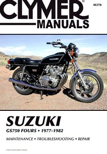 Livre : Suzuki GS 750 Fours (1977-1982) - Clymer Motorcycle Service and Repair Manual