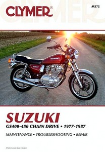 Livre : Suzuki GS 400-450 Twins - Chain Drive (1977-1987) - Clymer Motorcycle Service and Repair Manual