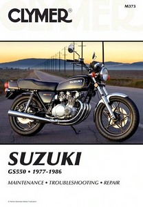 Livre : Suzuki GS 550 (1977-1986) - Clymer Motorcycle Service and Repair Manual