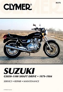 Livre : Suzuki GS 850, GS 1000, GS 1100 - Shaft Drive (1979-1984) - Clymer Motorcycle Service and Repair Manual