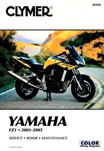 Livre : Yamaha FZS 1000 / FZ1 (2001-2005) - Clymer Motorcycle Service and Repair Manual