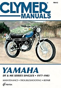 Livre : Yamaha DT & MX Series Singles (1977-1983) - Clymer Motorcycle Service and Repair Manual