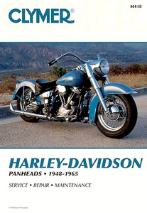 Livre : Harley-Davidson Panheads (1948-1965) - Clymer Motorcycle Service and Repair Manual