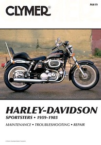 Livre : Harley-Davidson Sportsters (1959-1985) - Clymer Motorcycle Service and Repair Manual