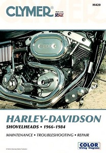 Livre : Harley-Davidson Shovelheads (1966-1984) - Clymer Motorcycle Service and Repair Manual
