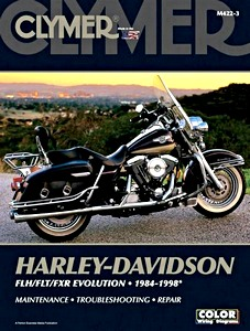 Livre : Harley-Davidson FLH / FLT / FXR - Evolution (1984-1998) - Clymer Motorcycle Service and Repair Manual