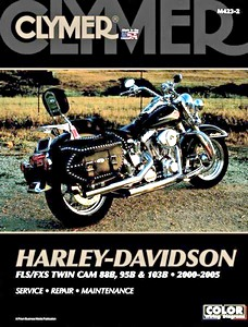 Livre : Harley-Davidson FLS / FXS - Twin Cam 88B, 95B & 103B (2000-2005) - Clymer Motorcycle Service and Repair Manual
