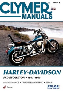 Livre : Harley-Davidson FXD - Evolution (1991-1998) - Clymer Motorcycle Service and Repair Manual
