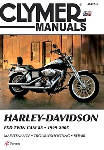 Livre : Harley-Davidson FXD - Twin Cam 88 (1999-2005) - Clymer Motorcycle Service and Repair Manual