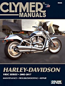 Livre : Harley-Davidson VRSC Series (2002-2007) - Clymer Motorcycle Service and Repair Manual