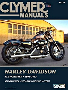 Livre : Harley-Davidson XL Sportster (2004-2013) - Clymer Motorcycle Service and Repair Manual