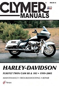 Livre : Harley-Davidson FLH / FLT - Twin Cam 88 & 103 (1999-2005) - Clymer Motorcycle Service and Repair Manual