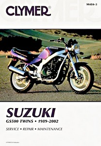 Livre : Suzuki GS 500 Twins (1989-2002) - Clymer Motorcycle Service and Repair Manual