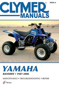 Yamaha YFZ 350 Banshee (1987-2006) - Clymer ATV / Quad Repair Manual
