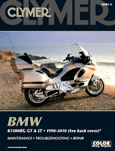 Livre : BMW K 1200 RS, GT & LT (1998-2010) - Clymer Motorcycle Service and Repair Manual