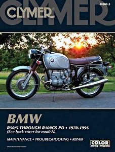 Livre : BMW R-Series: R50/5 through R100GS PD (1970-1996) - Clymer Motorcycle Service and Repair Manual