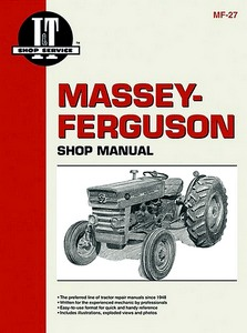Massey-Ferguson MF135, MF150, MF165 - Tractor Shop Manual