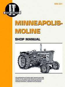 Boek: Minneapolis-Moline / Avery Tractors - Shop Manual - Tractor Shop Manual