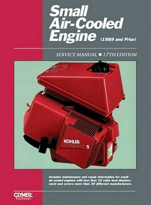 Boek : Small Air-cooled Engine Service Manual, Volume 1 (through 1989) - Clymer ProSeries Service and Repair Manual