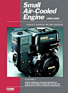 Boek : Small Air-cooled Engine Service Manual, Volume 2 (1990-2000) - Clymer ProSeries Service and Repair Manual