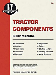 Boek : Tractor Components - Shop Manual (before 1970)