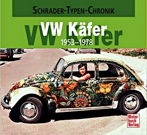 Boek: VW Käfer 1953-1978 (Schrader Typen Chronik)