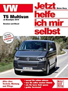 Vw transporter t5 4-zyl 1,9 L Moteur Diesel TDi 84-104ps manuel de réparation 03-15