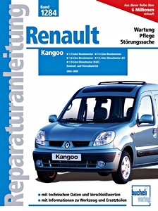 renault kangoo i 1997 2009 revues techniques entretien et r paration. Black Bedroom Furniture Sets. Home Design Ideas