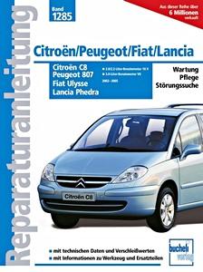 Citroen C8 Fiat Ulysse Peugeot 807 2.2 HDi JTD Moteur 4HW piston et bielle