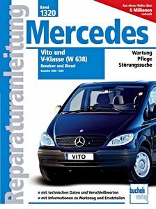Mercedes Benz Vito Ii Et Viano W639 Revues Techniques