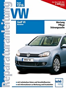 volkswagen golf vi 2008 2013 werkplaatsboeken onderhoud en reparatie 24. Black Bedroom Furniture Sets. Home Design Ideas