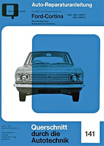 Boek: Ford Cortina Mark 2 - 1300, 1500, 1500 GT, 1600, 1600 GT (1966-1970) - Reparaturanleitung