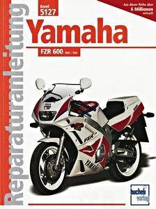 Yamaha FZR600, FZR750 and FZR1000 Fours 1987