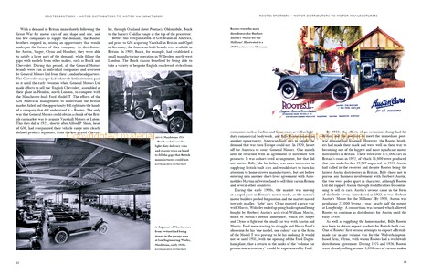 Bladzijden uit het boek The Rootes Story : The Making of a Global Automotive Empire (1)