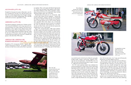 Pages du livre A-Z of Italian Motorcycle Manufacturers (1)