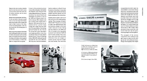 Bladzijden uit het boek De Tomaso : from Buenos Aires to Modena, the History of an Automotive Visionary (1)
