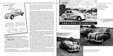 Bladzijden uit het boek Armstrong Siddeley Motors - The cars, the company and the people in definitive detail (1)