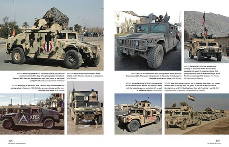 Pages du livre Humvee Enthusiasts' Manual - all military variants (1985 onwards) - An insight into owning, restoring, servicing and driving (Haynes Military Manual) (1)