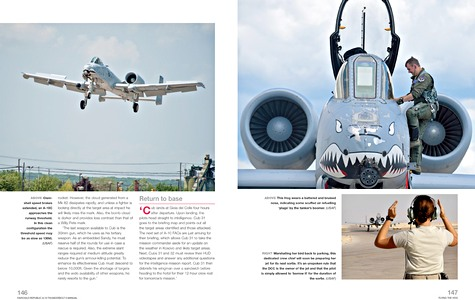 Bladzijden uit het boek Fairchild Republic A-10 Thunderbolt II Manual (1972 to date) - Insights into the design, operation and maintenance (Haynes Aircraft Manual) (1)